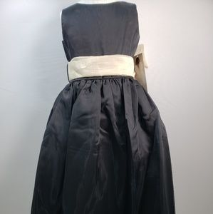 US ANGELS STYLE 409 BLACK ORGANZA DRESS